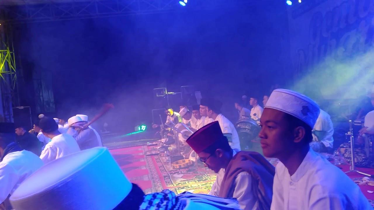 Majelis almadad (alhabib lutfi alhaddad) bersama syubanul muslimin
