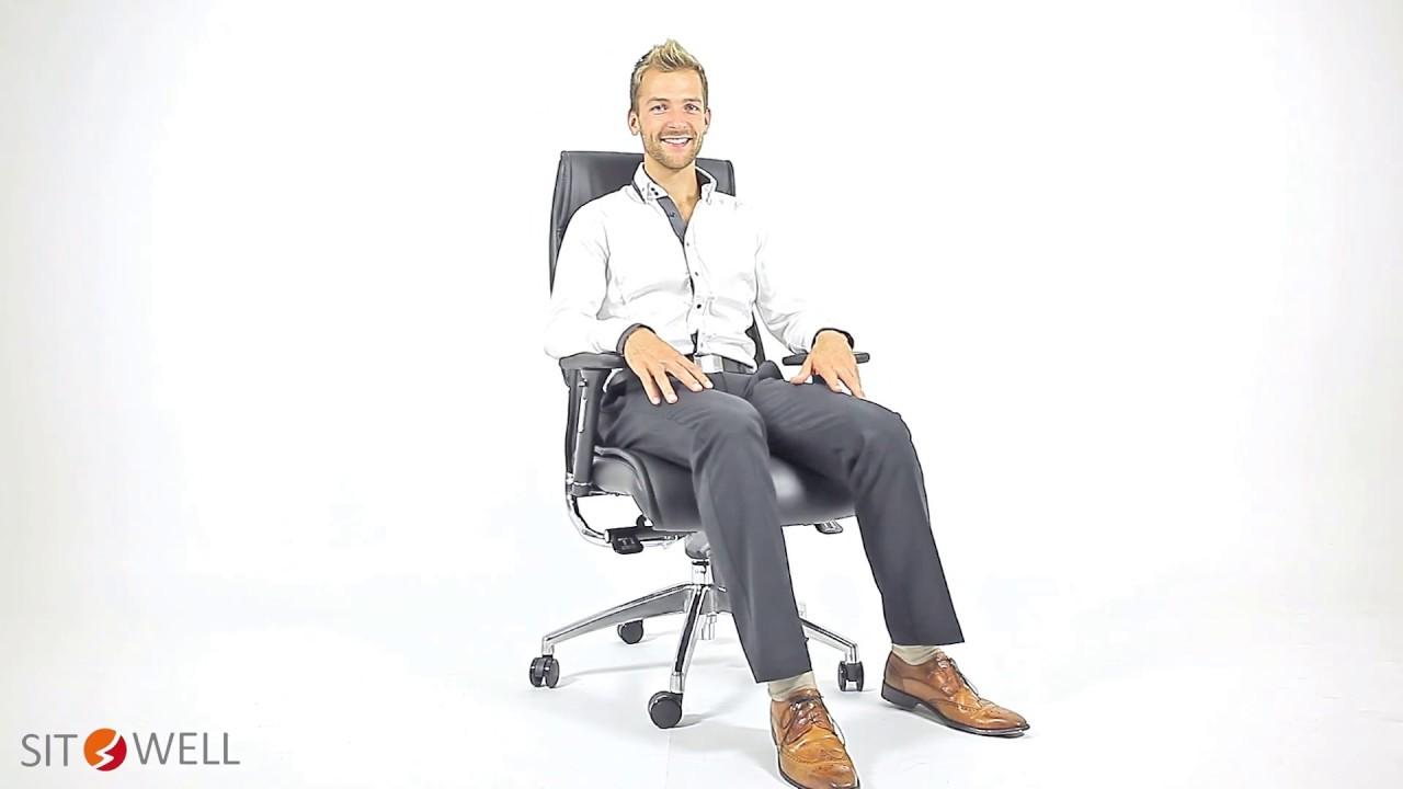 Bürostuhl Frankfurt Big Boss Chefsessel Youtube