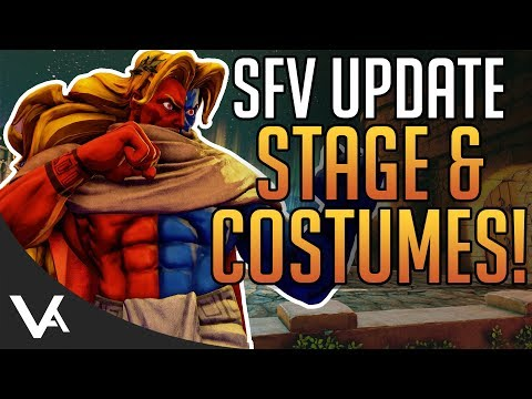 SFV - Classic Cammy Stage Returns! Halloween & School Costumes Update Coming To Street Fighter 5