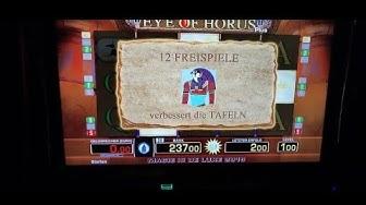 🔝🔝Schöne Freispiele Eye of Horus 💣👈Moneymaker84, Merkur Magie, Novoline, Merkur, Gambling,Casino