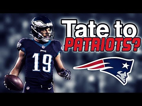 Patriots need to sign WR Golden Tate in Free Agency