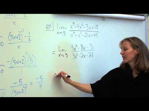 Price AP Calculus AB 8-7 L'Hopital's Rule