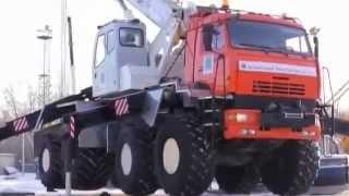 Автокран повышенной проходимости / Kamaz крановая установка(, 2013-02-04T09:44:13.000Z)