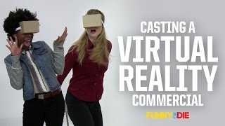 Casting A Virtual Reality Commercial