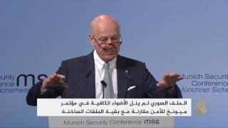 دي ميستورا ينتقد غياب أميركا عن الأزمة السورية