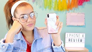 IPHONE X: WHATS ON MY IPHONE X!
