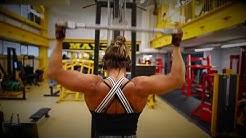 Sara Karhunen Figure Athlete workout