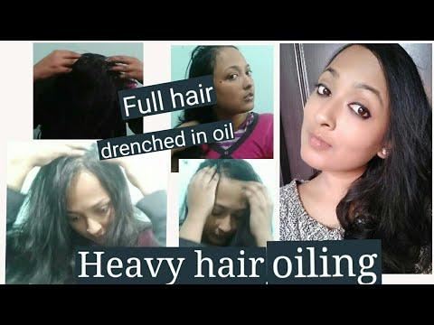 Heavy hair oiling for rough falling hair || Damage hair nourishing treatment || Creative Diva