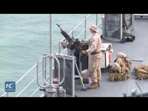 U.S. Navy's 7th Fleet USS Blue Ridge visits Hong Kong