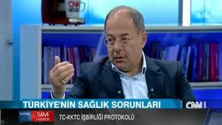 TC-KKTC İŞBİRLİĞİ PROTOKOLÜ SERDAR DENKTAŞ, RECEP AKDAĞ'I MAKAMINDA ZİYARET ETTİ
