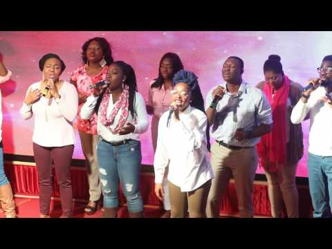 """Perfected Praise Choir  Worship Medley """"Withholding nothing/I give myself away"""""""