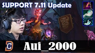 Aui_2000 - Dark Willow Roaming | SUPPORT 7.11 Update Patch | Dota 2 Pro MMR Gameplay