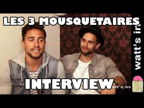 Les Trois Mousquetaires - Le Musical Interview Exclu