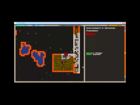 8º Gameplay Dwarf Fortress - Talleres y Trade Depot