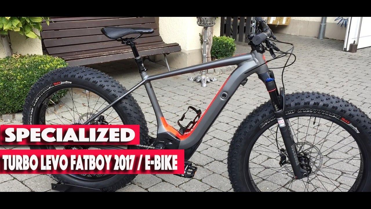 Specialized Levo Turbo Fatboy 2017 E-Bike fatbike