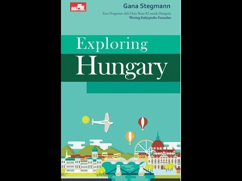 "Gana Stegmann had a talkshow ""Exploring Hungary"" on Up Radio Semarang, 2017"