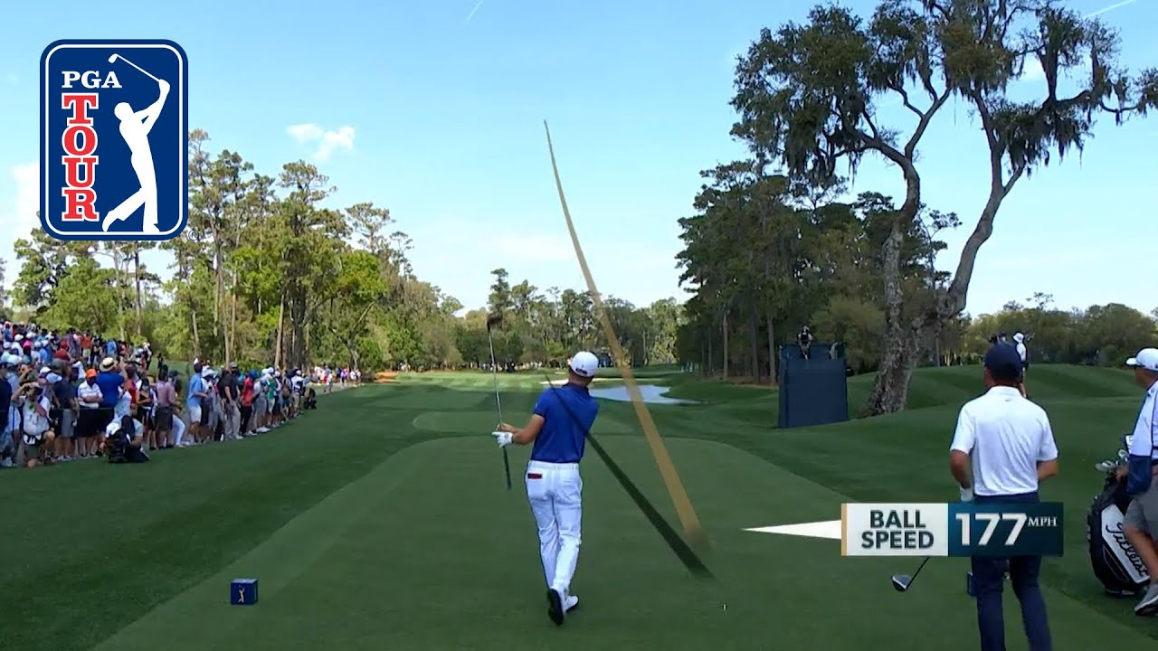Justin Thomas' best shot trails at THE PLAYERS Championship