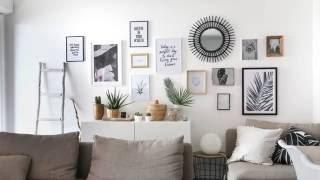 DIY : Un mur de cadres sans percer!