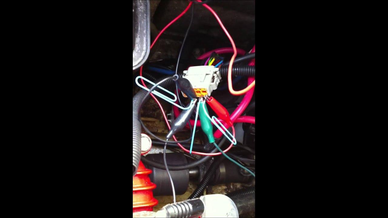 2000 Polaris SLX 1200 Stator  Hall Effect sensor testing  YouTube