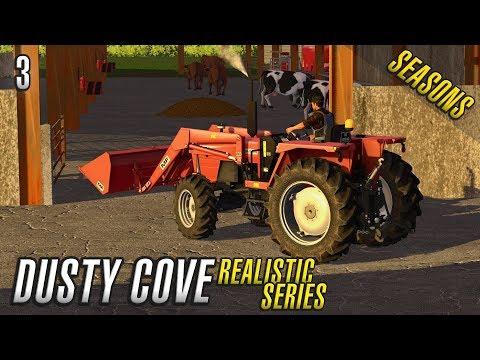 Realistic Farming Simulator 17   Dusty Cove   Day Three