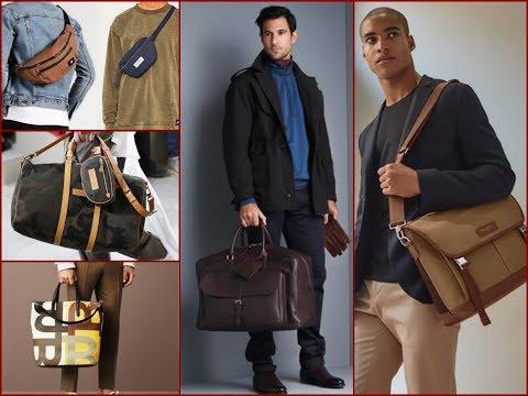 Latest Men's Bag Trends for Winter 2017-2018 / Men's Fashion Lookbook