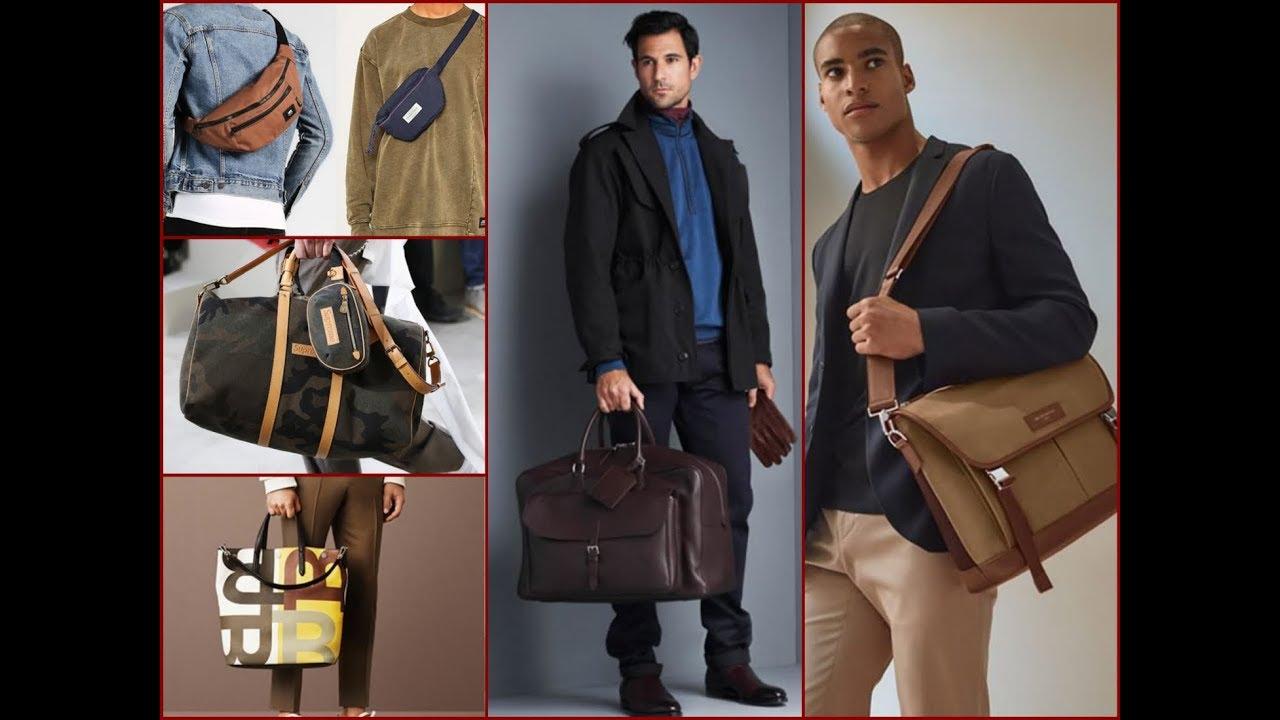 Latest Men's Bag Trends for Winter 2017-2018 / Men's ...