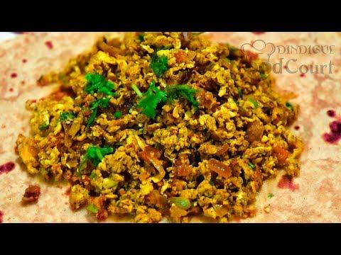 Side Dish For Chapati, Rice/ Egg Bhurji Recipe/ Egg Podimas/ Egg Recipes
