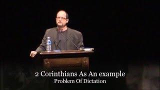 Amazing: Bart Ehrman Dissects 2 Corinthians