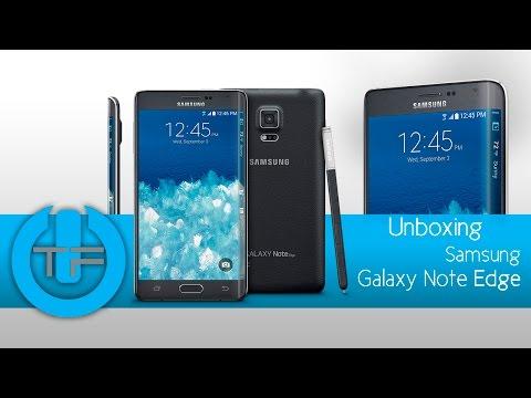 Unboxing Samsung Galaxy Note  Edge en Español