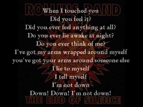 Rollins Band, You didn't need (with lyrics)
