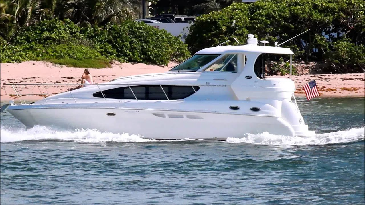 Sea Ray 390 Motor Yacht Youtube