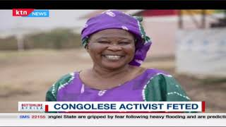 Congolese activist who lost her husband and children in Rwandese genocide feted | Bottomline Africa