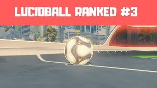 LUCIO BALL RANKED #3 - Overwatch Summer Games 2018 Gameplay