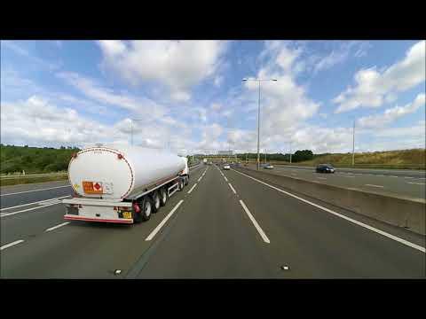 Z89 Travel : Road Trip Lidl Distribution Belvedere to Eddie Stobart Rugby Truck Stop