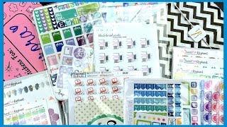 Etsy Sticker Haul Part 2 | Rorys Sweet Addictions