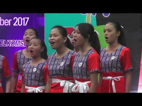 Remaja Sion Tounelet Female Choir ( PSdKR 2017 ) Hymne Remaja dan Pujilah Tuhan Hai Segala Bangsa