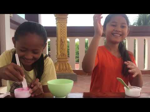 Make slime khmer khmer make it slime slime challenge with my friend ccuart Image collections