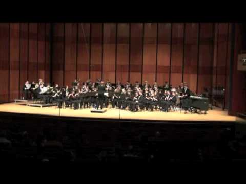 TWHS Wind Ensemble- Trittico, Movement 1