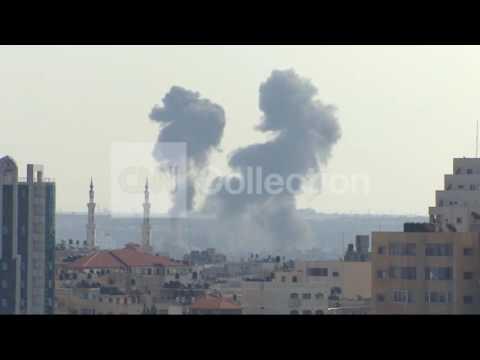 PILLARS OF SMOKE IN GAZA