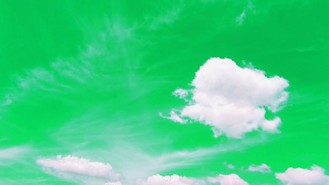 Green Screen Sky Effect Background Video Time Lapse Clouds Moving Footage Piano Sound Music - EP 140