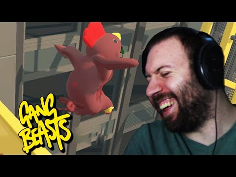 I BELIEVE I CAN FLY | Gang Beasts Online Funny Moments Part 26