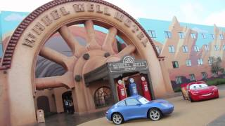 cars wing and pool tour disney s art of animation resort walt disney world florida