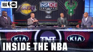 The Crew Reacts to the Bucks' Big Home Win Against the Lakers | NBA on TNT