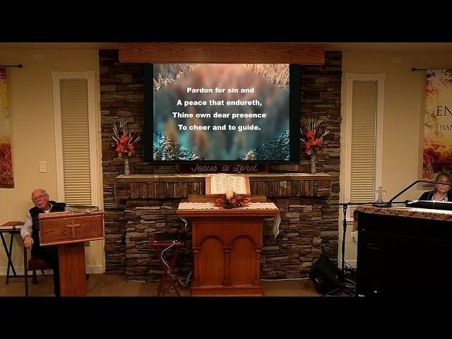 Sunday Service - Nov 29, 2020 - Psalm 119:121-128 Patience and Loyalty
