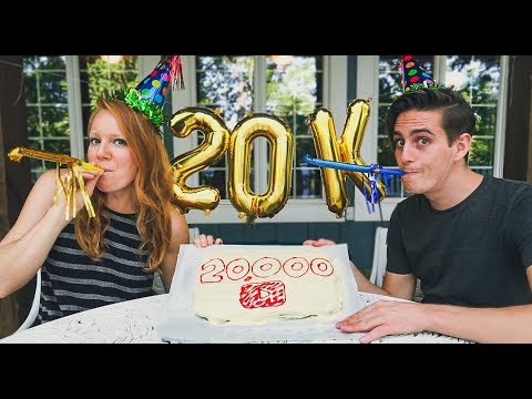 20,000 YOUTUBE SUBSCRIBERS!! + Travel Update!