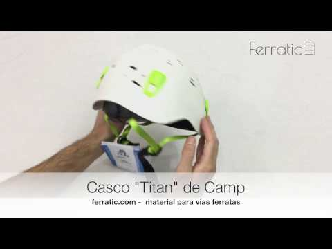 Casco Titan blanco de Camp - Ferratic