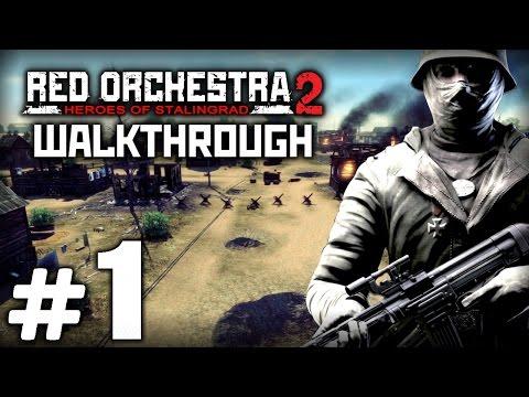 Прохождение RED ORCHESTRA 2: Heroes of Stalingrad — Миссия №1 — Волга рядом: СПАРТАНОВКА