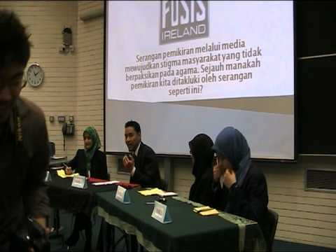 FOSIS Ireland on Forum Siswa (Trophy of Education Malaysia) [Malay]