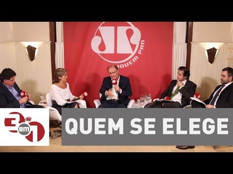 Especial 3 Em 1 | Alckmin: Quem Se Elege Hoje é Quem Está Na Mídia, Quem Tem Dinheiro Ou Corporações