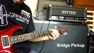 sovtek mig 100 amp short rhythm test metal rock